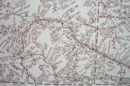 Poster: Northwest/West Historical Map (Large)