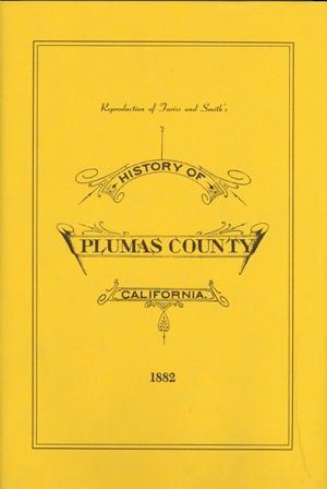 History of Plumas County - 1882