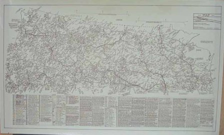 Poster: Northwest/West Historical Map (Small)