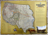 Poster: Overland Trails