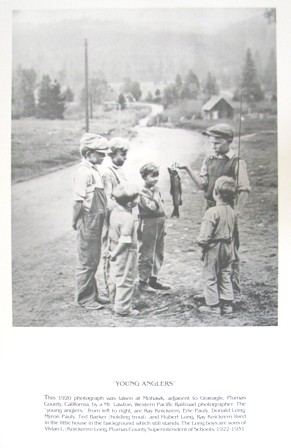 Poster: Young Anglers