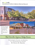 Oroville - Quincy Ridge Route, The