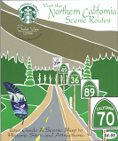 Northern California Scenic Routes Map