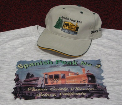 T-Shirt: Spanish Peak Railroad