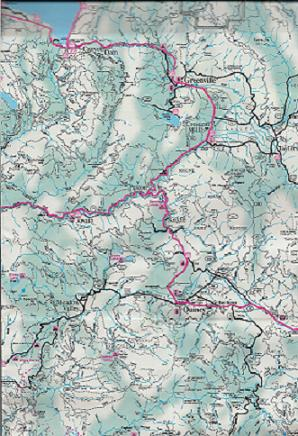 Plumas County Map