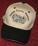 Baseball Cap - Plumas County Museum (BLK)